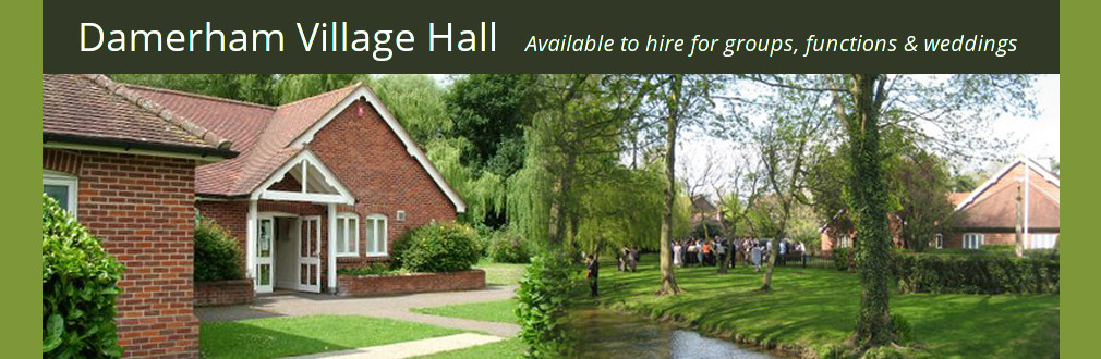 Damerham Village Hall header image