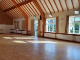 Inside the main hall